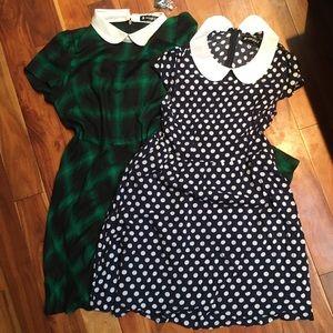 2-PACK Peter Pan Collar Dress